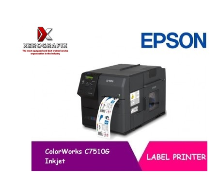 Epson ColorWorks C7510G Inkjet Colour Label and Barcode Printer